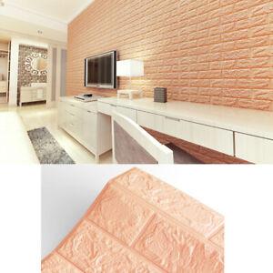 5-10pcs-Self-adhesive-3D-Tile-Brick-Wall-Sticker-PE-Foam-Panel-Brick-Home-Decor