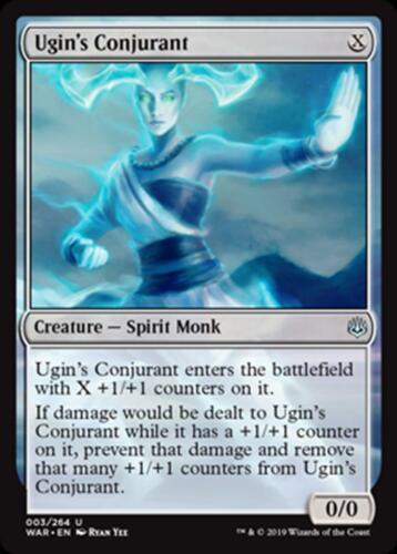 4x Ugin/'s Conjurant x4 U MTG Magic - NM//M War of the Spark