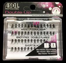 Lot 10 - ARDELL Eyelashes Individual Flare Lashes Knot Free Double Flares Short