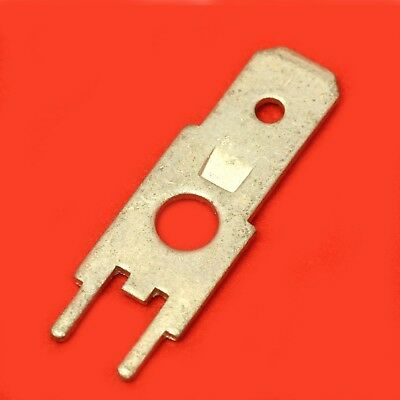 10x Cosse Fastom Male Etamee A Souder Sur Circuit Imprime Lot De 10 Cosseq