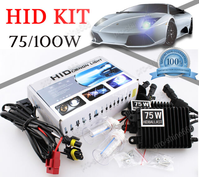 55W 75W 100W Xenon H3 H4 H7 H11 H13 9005 9006 D2S HID Headlight Conversion Kit