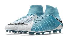 online store b7bce f48be Nike Hypervenom Phantom III DF FG Mens Soccer Cleats Blue 860643-104 Size 8