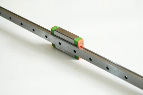Guía de carril lineal MGN12H 200-550 mm MGN12H bloque para la impresora 3D CNC Hazlo tú mismo