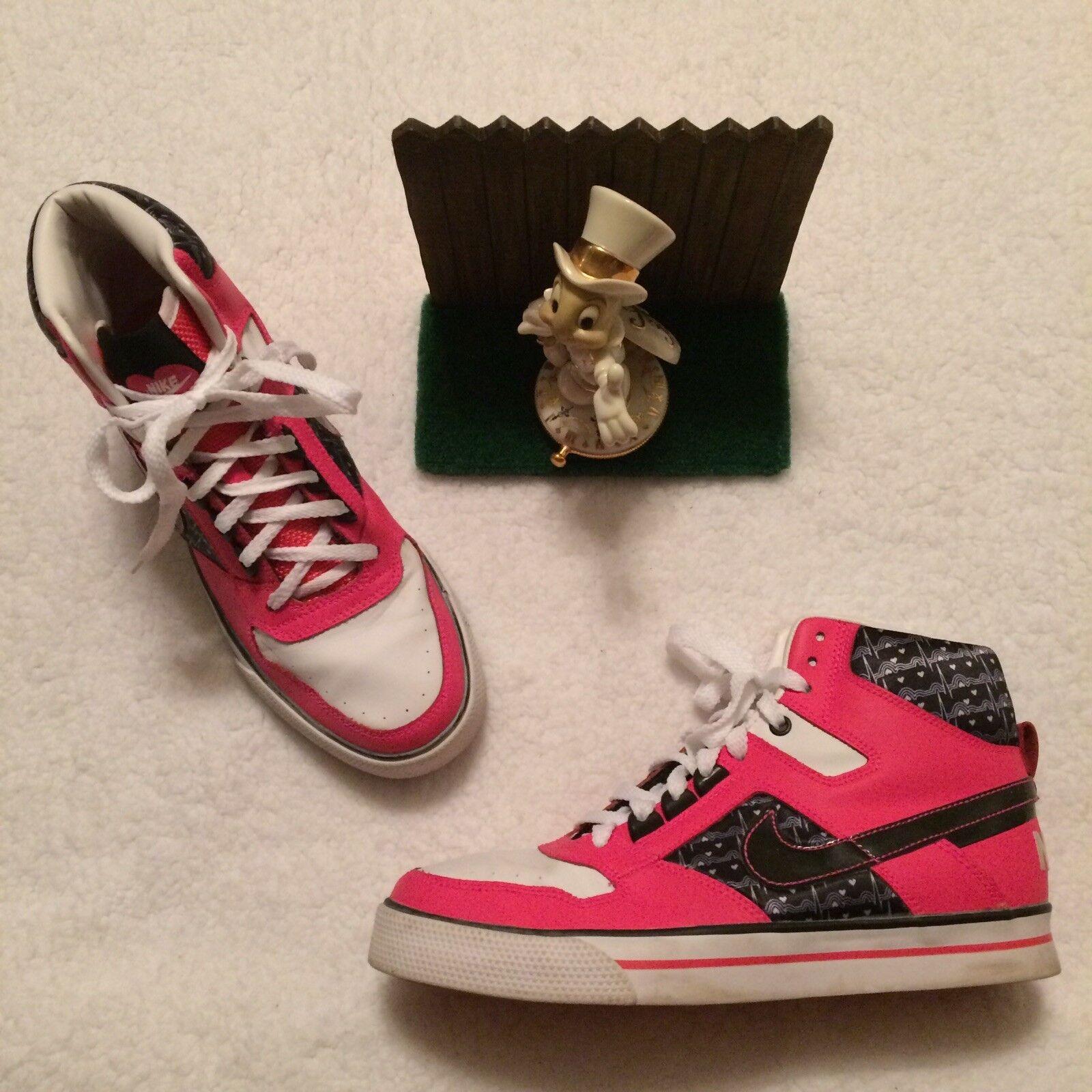 sports shoes 59576 248b0 Nike Delta Force shoes Sneakers Womens 39 386200-601 Pink Black Minimal  Wear 8 npgbmp7422-Women s Trainers