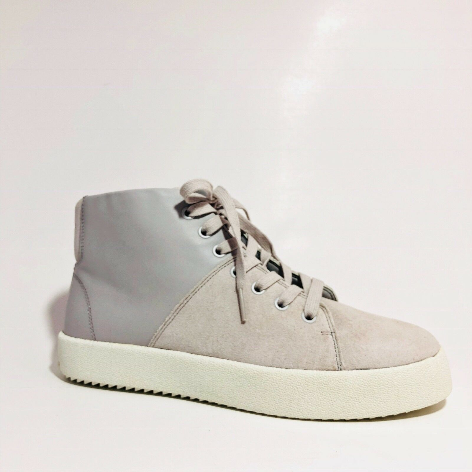 Kendall + Kylie Dylan Light 2 Leder Farbe Block Light Dylan Gray High Top Sneaker sz 9.5 032fba