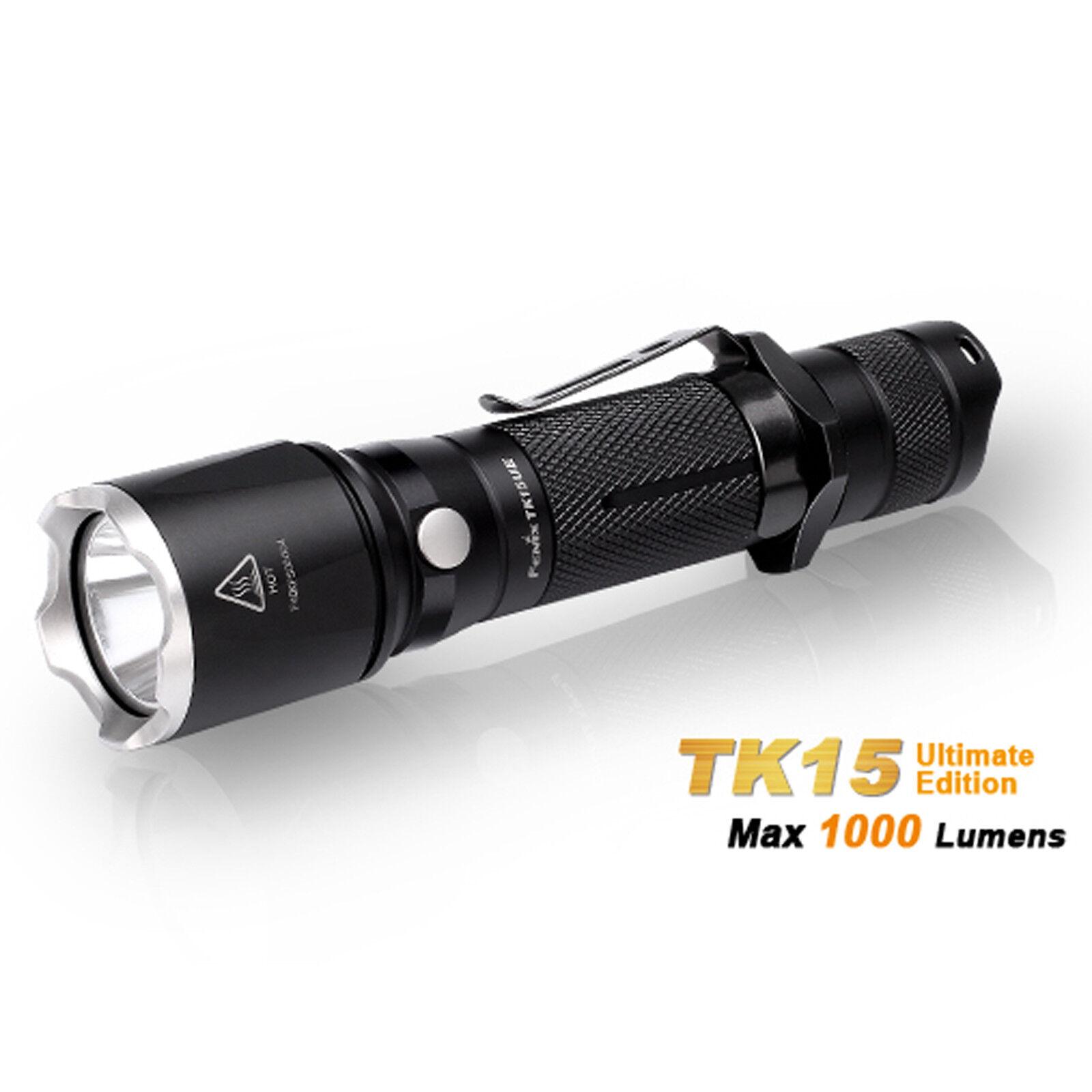 Fenix TK15UE 1000 Lumen LED CREE XP-L HI V3 LED Taschenlampe - Outdoor Security  |
