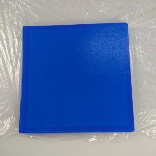 Cojín de Gel de Motocicleta Asiento Cómodo Hazlo tú mismo modificar Cojín del Asiento Alfombrillas De Azul 25*25*2cm