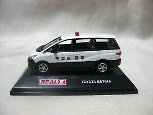 TOYOTA ESTIMA Chiba Prefectural Police 1:72 REAL-X Japan ...