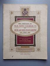 John Player Complete Cigarette Card Album Coronation King George VI & Queen