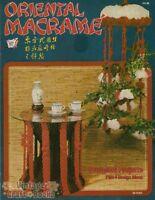Oriental Macrame Vintage Pattern Book Door Curtain Bird Cage Wind Chimes