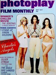Charlie-039-s-Angels-Magazine-1977-Photoplay-Farrah-Fawcett-Kate-Jaclyn-UK-EX-NM-COA