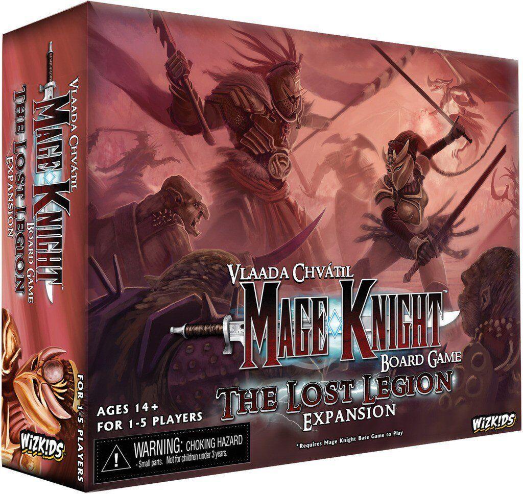 Mage Knight tavola gioco  The Lost Legion Expansion  Wizbambini BRe nuovo ABUgiocos  Garanzia di vestibilità al 100%