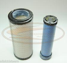 Case Skid Steer Engine Air Filter Kit 40XT 60XT 70XT 75XT 85XT inner outer
