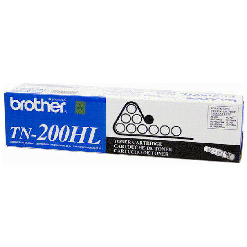 Brother GENUINE/ORIGINAL TN-200HL Black Laser Toner Printer Cartridge TN200 NEW