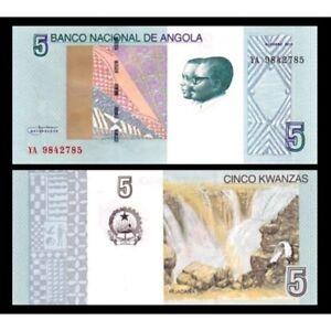 Angola 5 Kwanzas 2012 ( 2017 ) Unc P 151a Saswlfkc-07223124-956054336