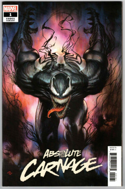 ABSOLUTE CARNAGE #1 1:25 ADI GRANOV CODEX VARIANT MARVEL COMICS 2019  - RARE