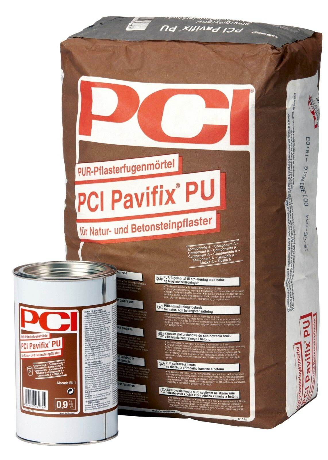 PCI Anthracite Pavifix Pu 20,9 kg Anthracite PCI para Fugas Fuga 8527d8