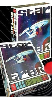 2009 discontinued amt 1 650 Star Trek USS Enterprise NCC1701 boxed kit newin box