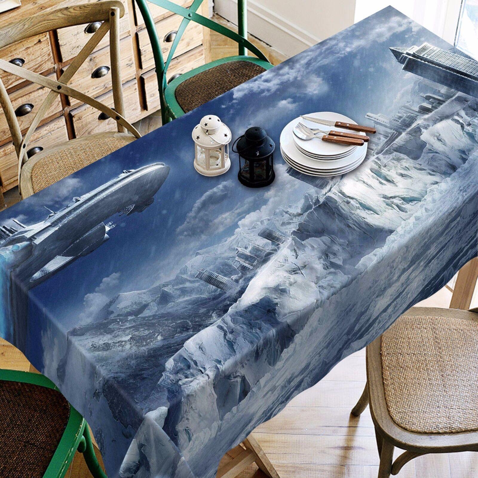 3D dirigeable 789 Nappe Table Cover Cloth Fête D'Anniversaire événement AJ papier peint UK