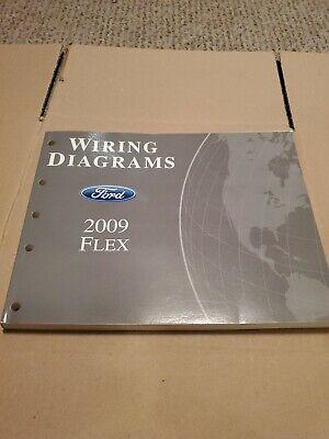 2009 Ford Flex Wiring Diagrams Dealer Service Manual OEM ...