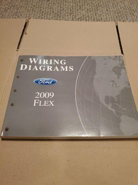 2009 Ford Flex Wiring Diagrams Dealer Service Manual Oem