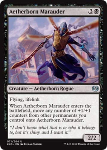 4x Aetherborn Marauder x4 MTG Magic - U NM//M Kaladesh