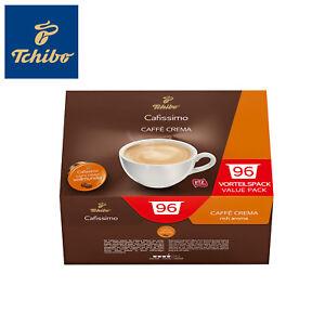 Tchibo Cafissimo 96er Kapseln Vorrats Box Caffè Crema Intensität: 4 vollmundig
