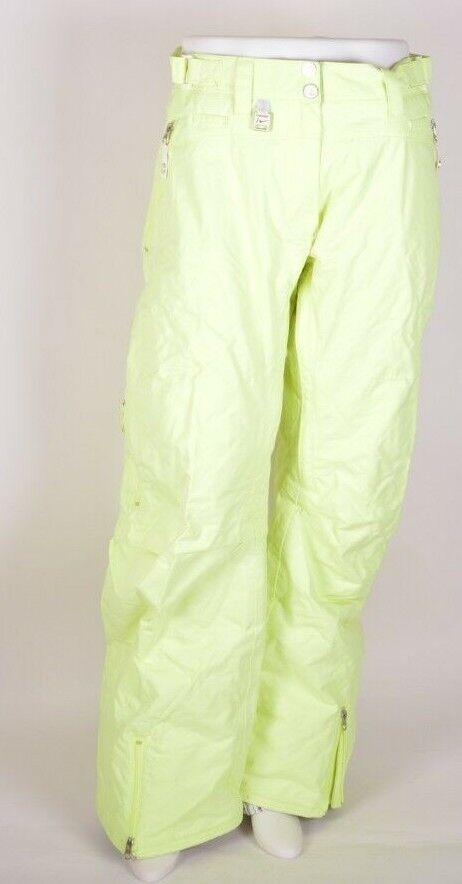 2009 NWT WOMENS NIKE BEACONSFIELD SNOWBOARD PANTS  180 L Cyber Green sb 10K