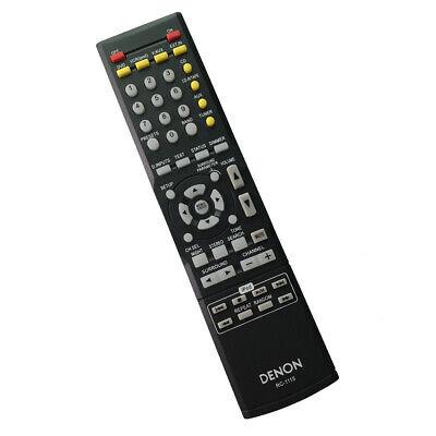 New Remote Control RC-1115 For Denon RC-1120 AVR-1312 AVR-1311 AVR-1610 Receiver