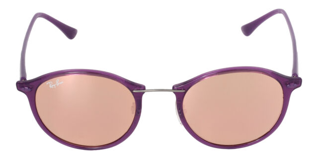 4e0f2cdc717 Sunglasses Ray-Ban Tech Light Ray Rb4242 6034 2y 49 Shiny Violet for ...