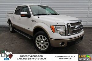 2012 Ford F 150 King Ranch / PREMIUM LEATHER / MOONROOF / NAVIGATION /