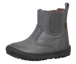 Details zu Bisgaard Chelsea Boots Stiefel 60319 TEX Leder grau Gr. 22 27 Neu
