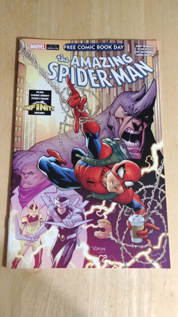 2018 Spider Man Fcbd Comic Book Day Marvel Vf For Sale Online Ebay