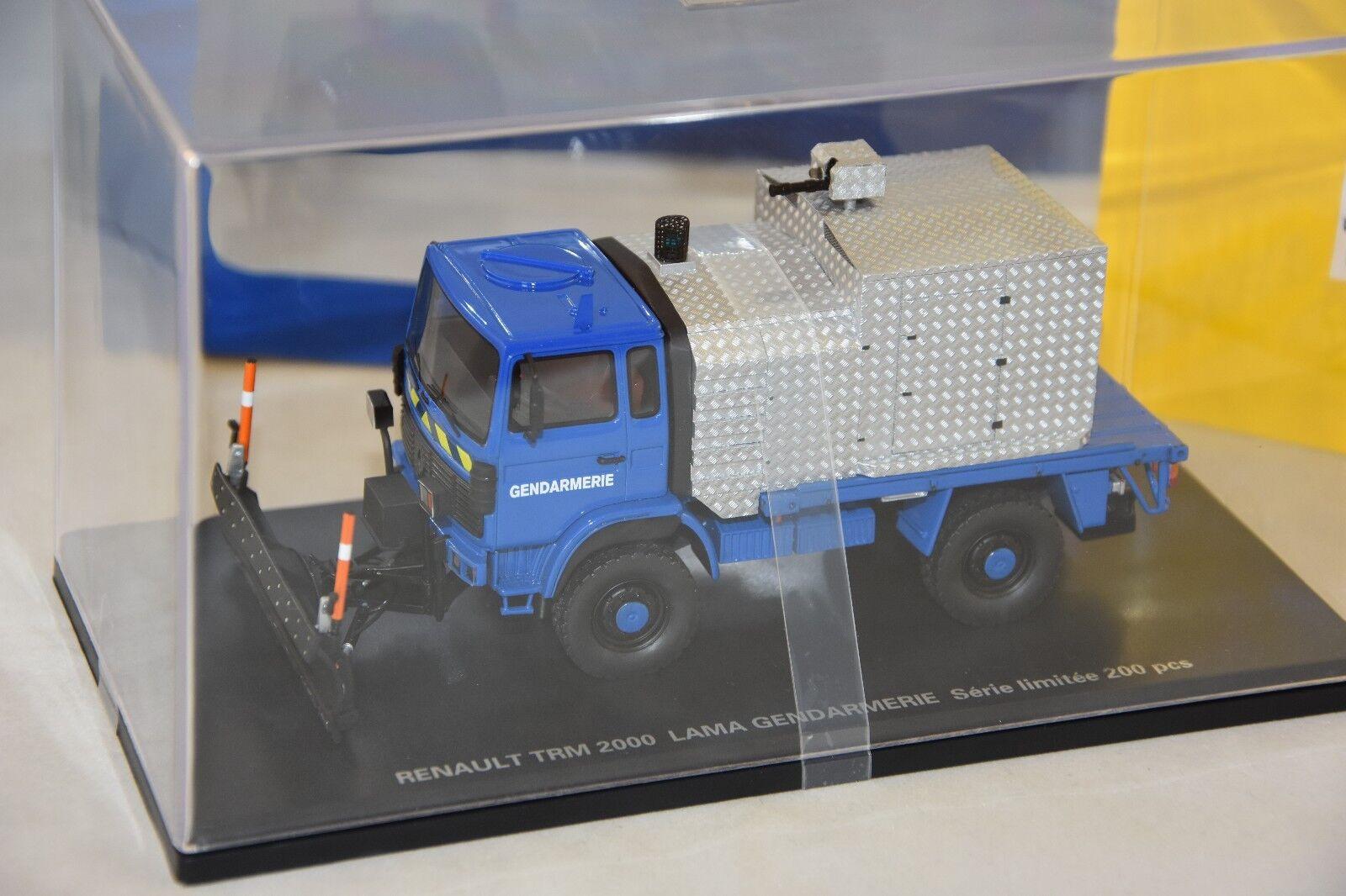 PERFEX 708 - RENAULT TRM 2000 LAMA GENDARMERIE 1 43