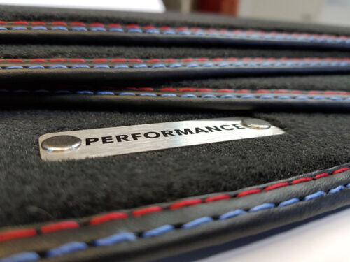 Performance Tappetini Per BMW 3er e30 Cabrio migliore qualità velluto logo