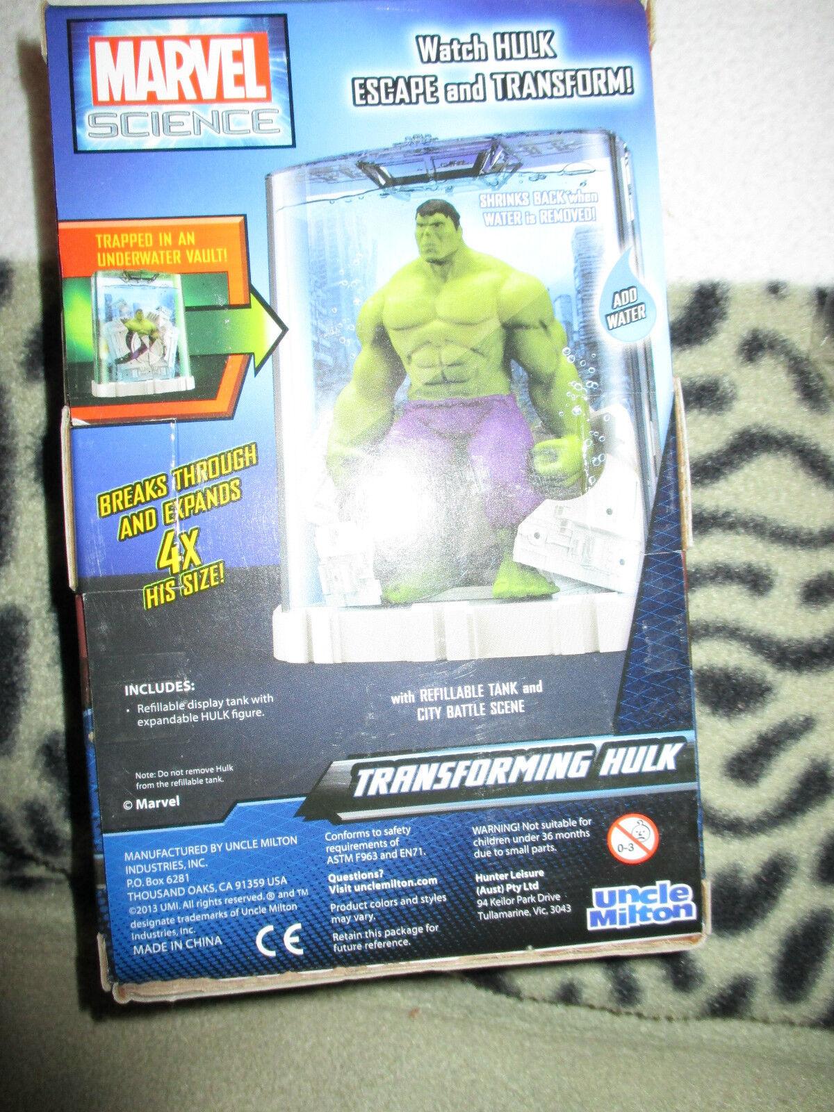 Transforming Transforming Transforming Hulk figure  water tank 199956