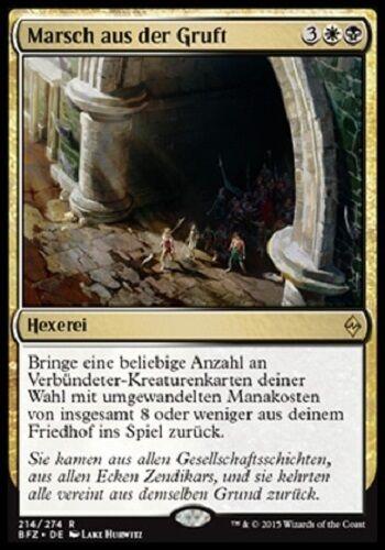 mint, Kampf um Zendikar, deutsch Marsch aus der Gruft March from the Tomb