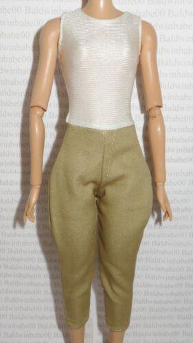BODYSUIT ~BARBIE DOLL AMELIA EARHART SHIRT CAPRI FLIGHT PANTS ACCESSORY CLOTHING