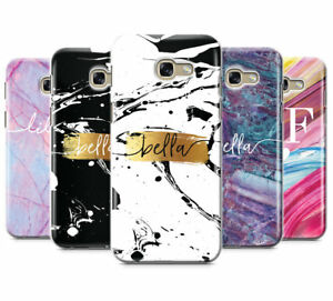 online retailer c9f47 ea168 Details about PERSONALISED SWIRL MARBLE NAME INITIALS PHONE CASE FOR  SAMSUNG GALAXY A5 2017
