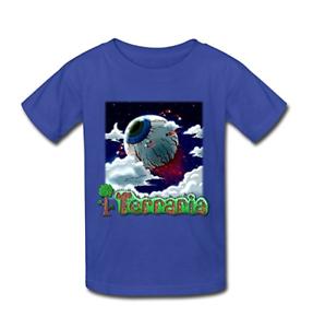 Kid/'s Vintage Terraria Eye of Cthulhu T-Shirt