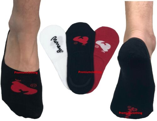 Mens MONEY 3 Pack Invisible Trainer Pop Socks Stockings Footsies Size 6-11 UKs
