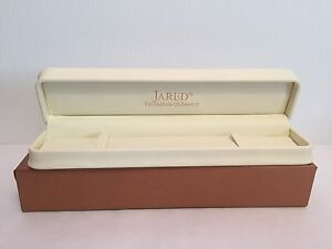 JARED FAUX LEATHER GIFT BRACELET JEWELRY BOX EMPTY WITH GIFT BOX eBay