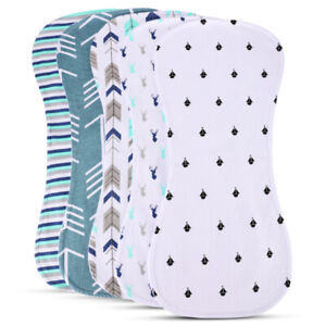 Newborns-Burp-Cloth-for-Boys-Girls-Premium-Large-18-7-034-x8-85-034-100-Organic-Cotton