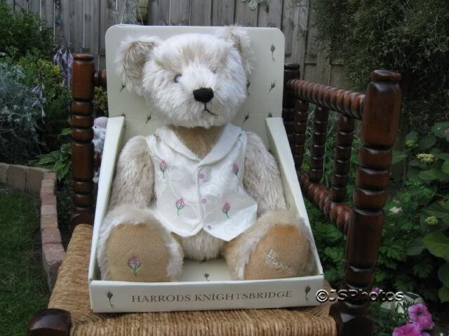 Harrods Rosebud Bear Special Edition in Box