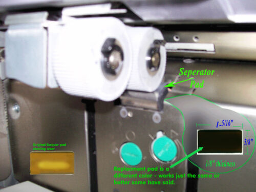 Stripper Pad fit for Risograph Scraper Pad Separator Pad Compatible