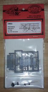 Parkside Dundas DM53 Festiniog Railway 3 Ton Slate Wagon '009' 4mm Scale Narrow