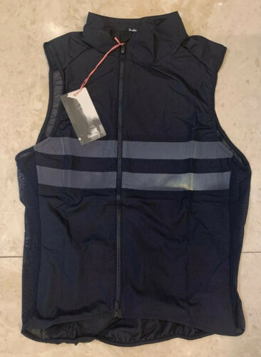 Rapha Brevet Gilet With Pockets Dark Navy Size Medium Brand New With Tag