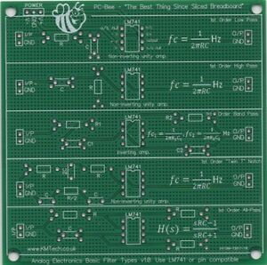 Basic-Filter-Types-Low-Pass-High-Pass-bandpass-prototyping-PCB-student-learning