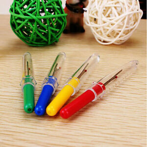 4pcs-Thread-Cutter-Seam-Ripper-Stitch-Unpicker-Sewing-Plastic-Handle-Craft-Tools