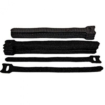 VELCRO® Brand ONE-WRAP® double sided reusable Strapping Black White Cable Ties